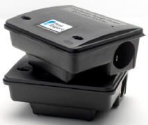 Heavy-Duty Outdoor Mouse Bait Stations (Twinpack)